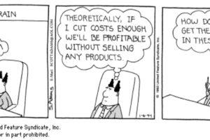 Does sales matter?